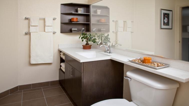 Bathroom in Candlewood Suites Philadelphia - Mt. Laurel