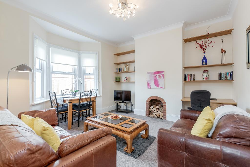 Lounge at Chesham Court Apartment, Centre, Guildford