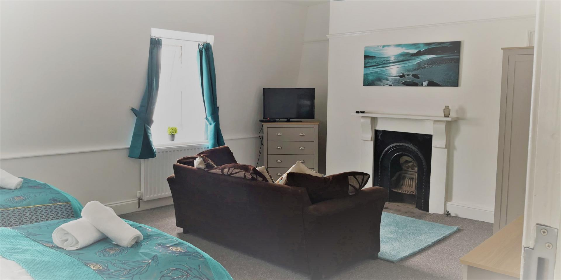 Main Bedroom at Nicks Place Apartment, Mutley, Plymouth