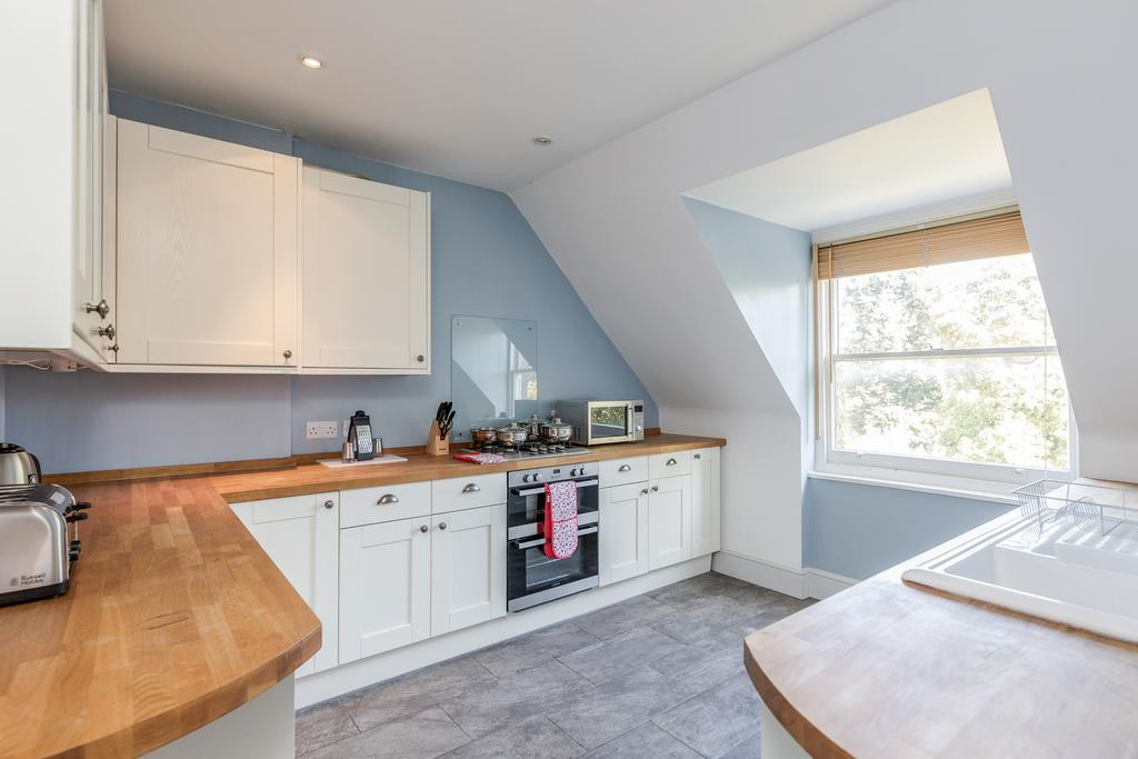 Spacious kitchen at Albury Road Apartment, Centre, Guildford