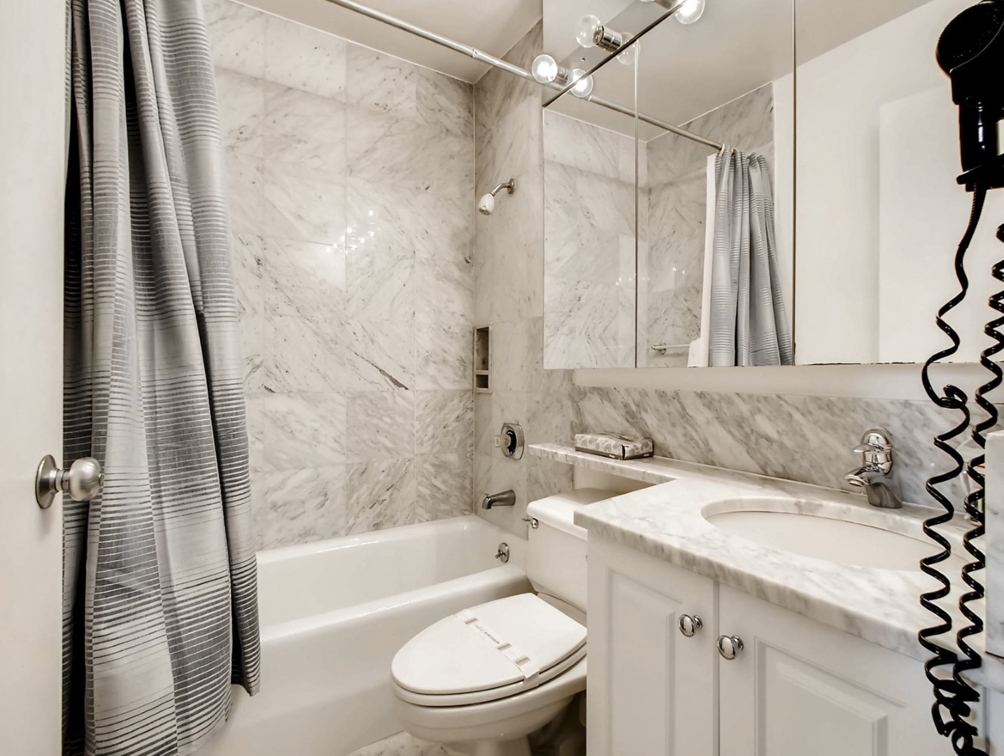 Bathroom at 56th Street Symphony House Apartments, Midtown West, New York