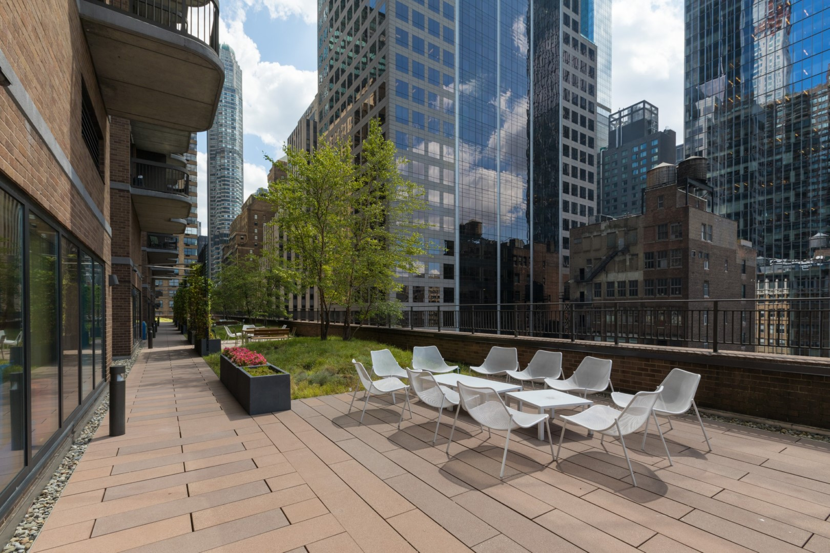 Terrace at 56th Street Symphony House Apartments, Midtown West, New York