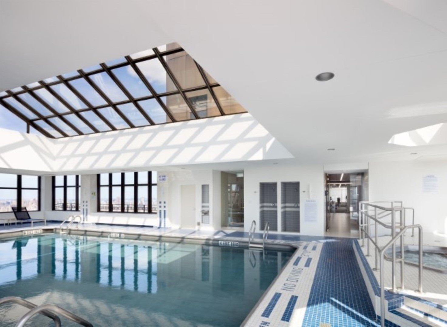 Pool at 56th Street Symphony House Apartments, Midtown West, New York