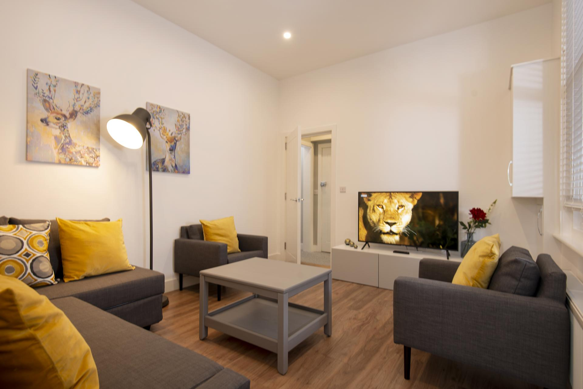 Lounge at Hereford House Apartments, Southsea, Portsmouth