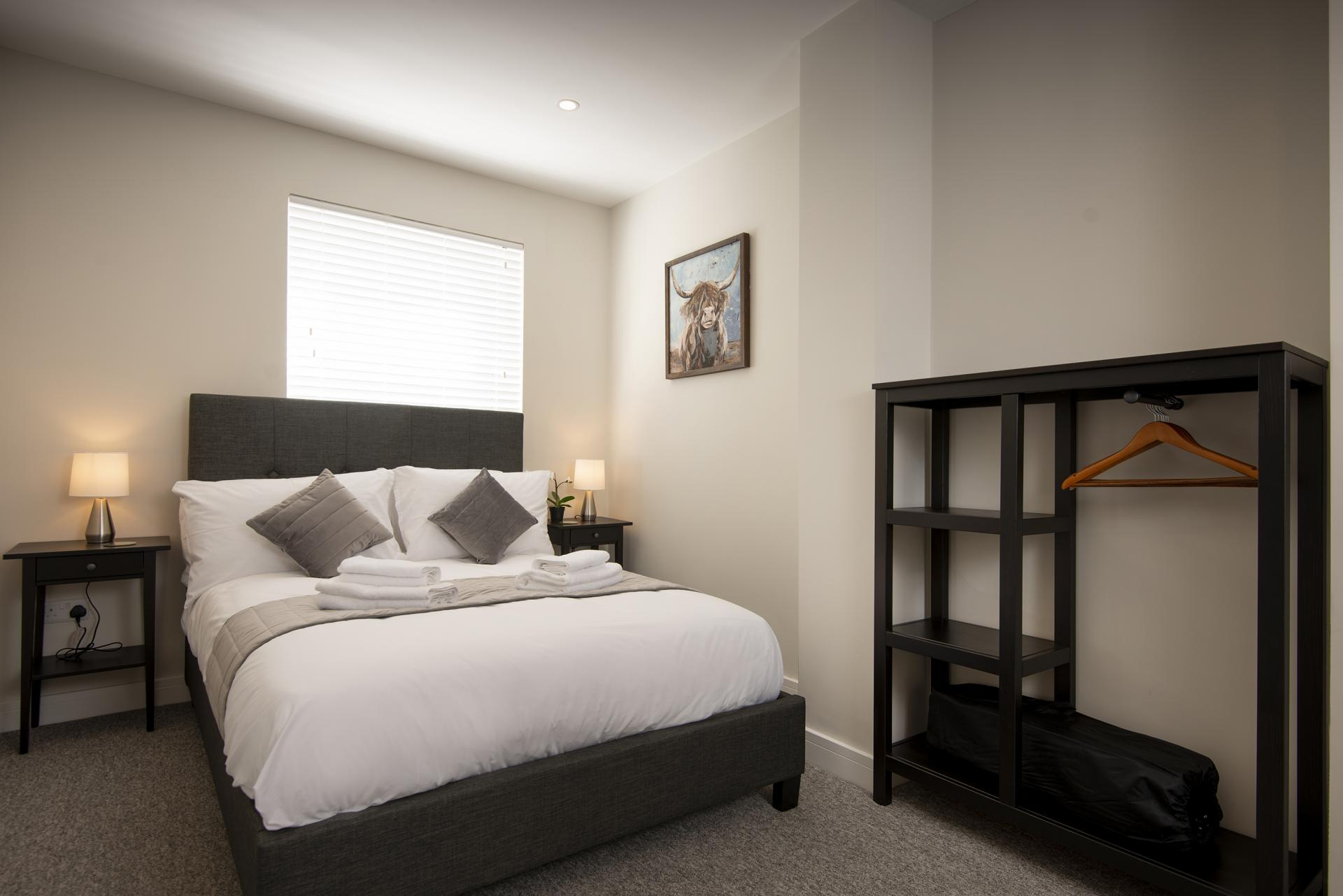 Master Bedroom at Hereford House Apartments, Southsea, Portsmouth