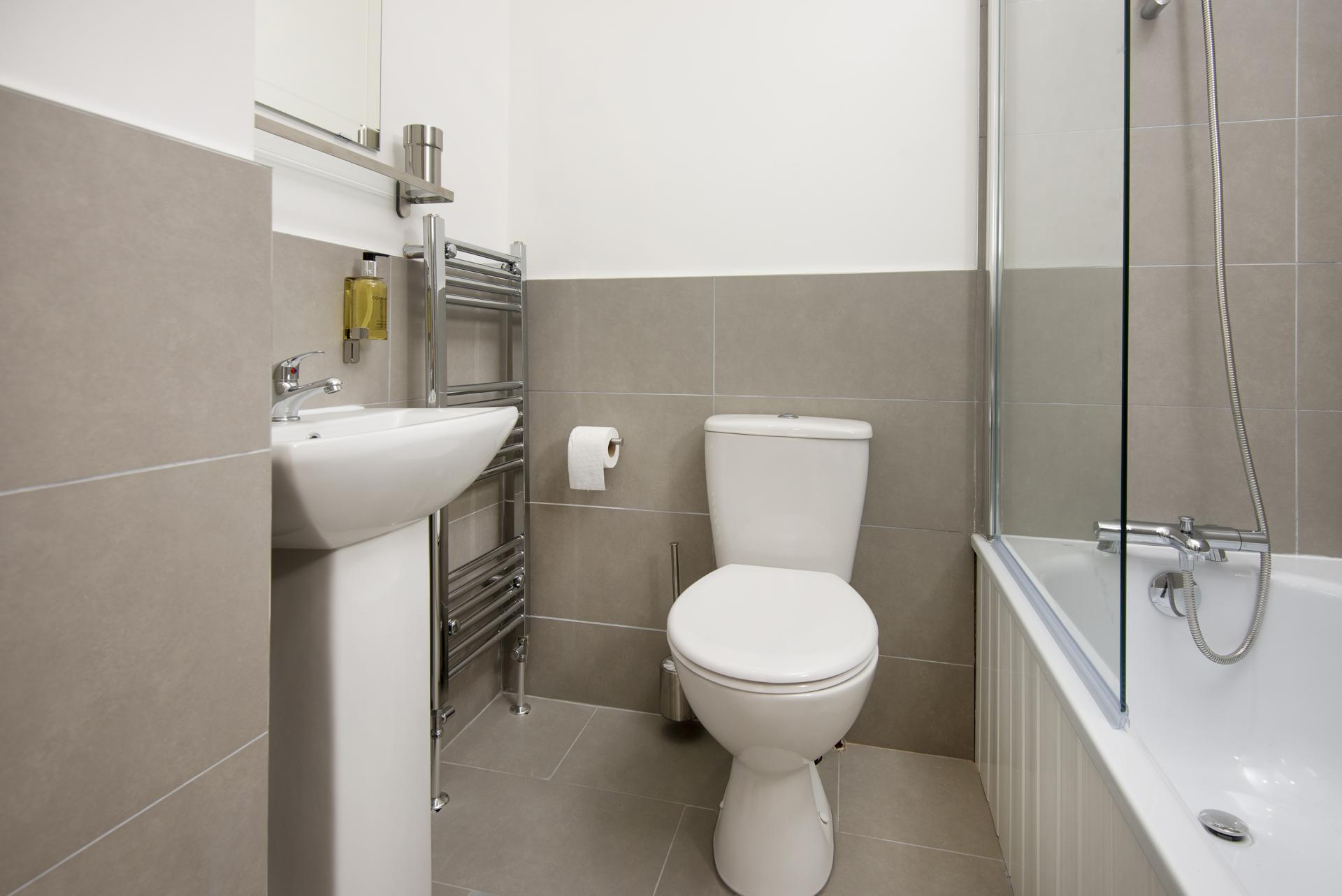 Toiket at Hereford House Apartments, Southsea, Portsmouth