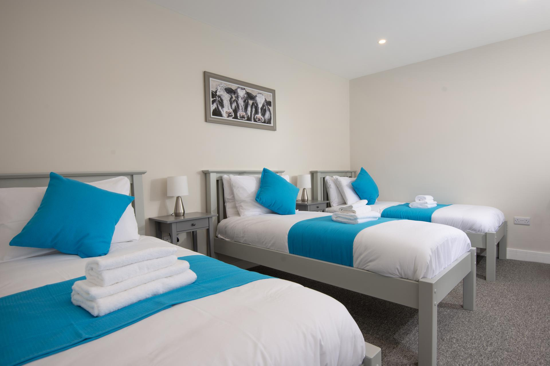 Triple Bedroom at Hereford House Apartments, Southsea, Portsmouth