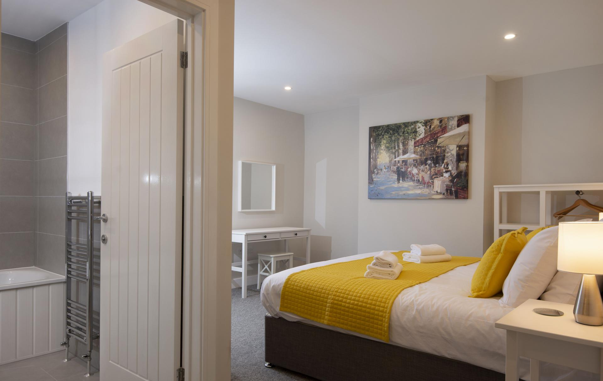 En-suite at Hereford House Apartments, Southsea, Portsmouth