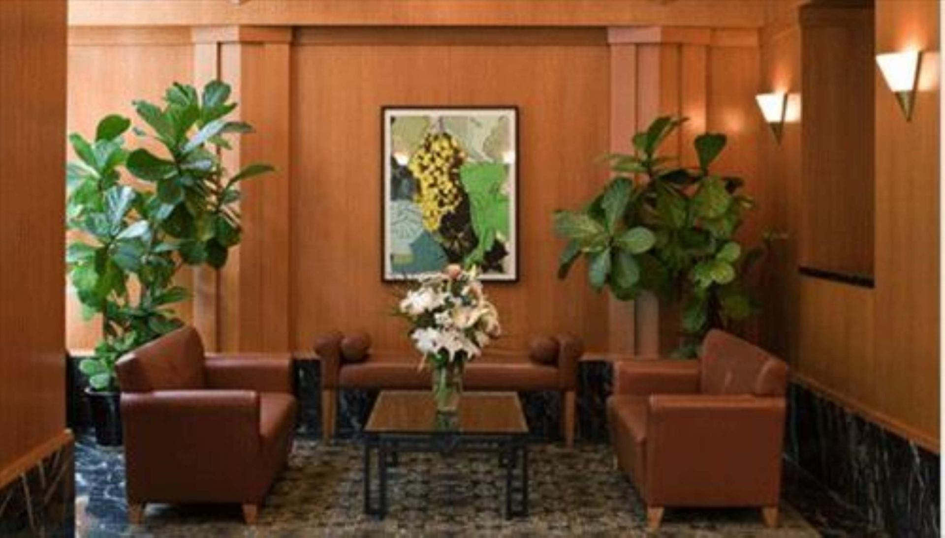 Lobby at The Pearl Apartments, Upper East Side, New York