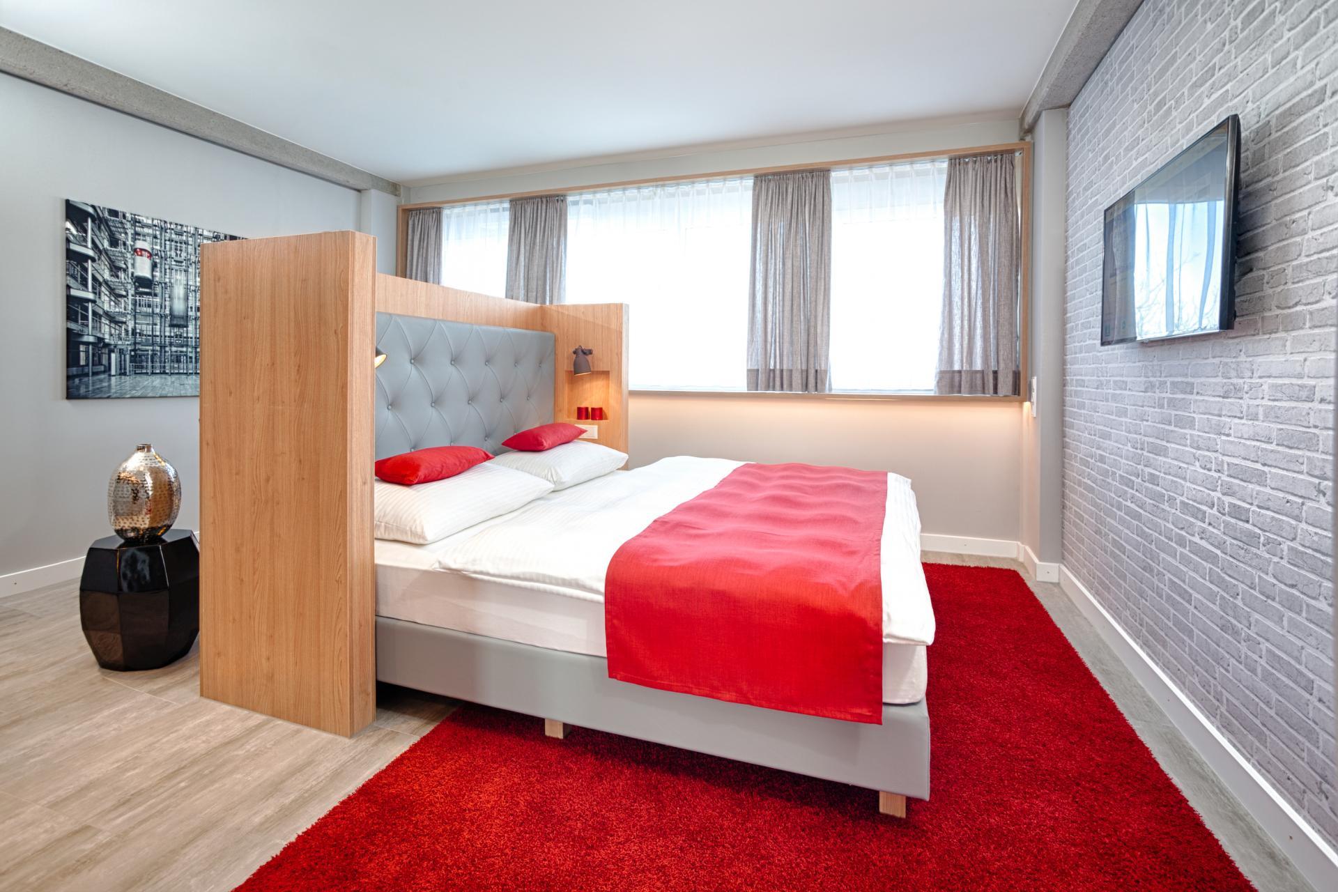 Bed at MLoft Apartments, Trudering-Riem, Munich