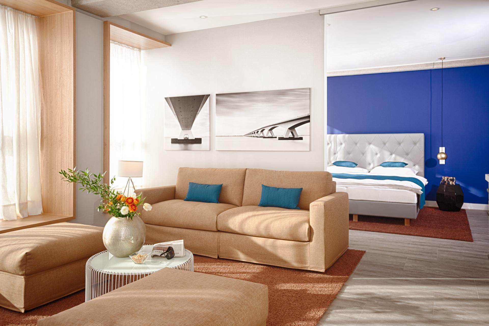 Living room at MLoft Apartments, Trudering-Riem, Munich