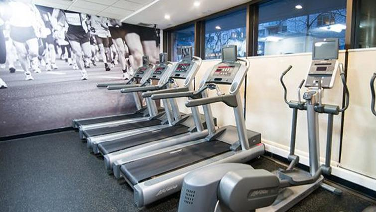 Extensive gym in East Archstone Apartments