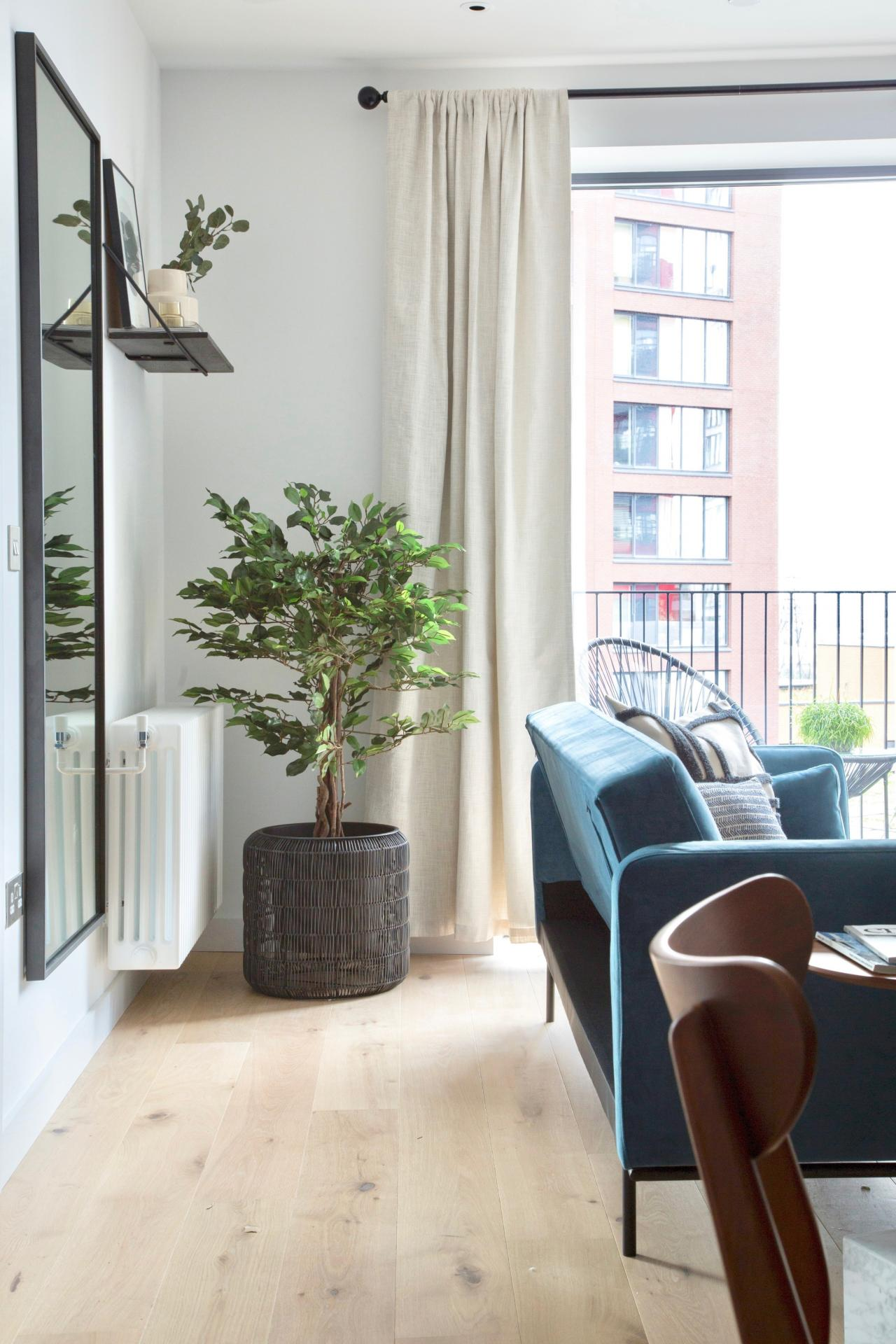 Plant at London City Island Apartment, Leamouth, London