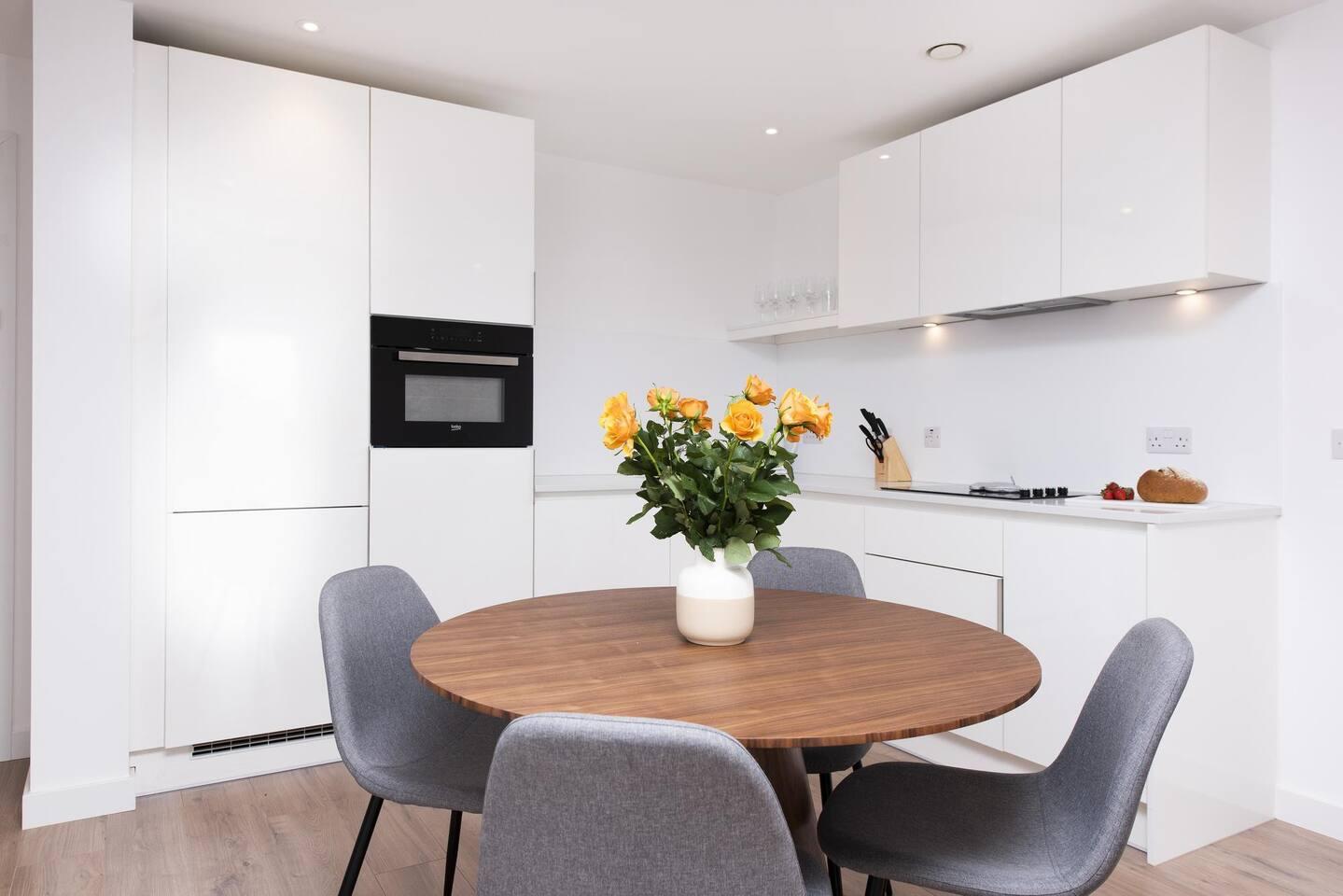 Kitchen at The Lansdowne Apartments, Ladywood, Birmingham
