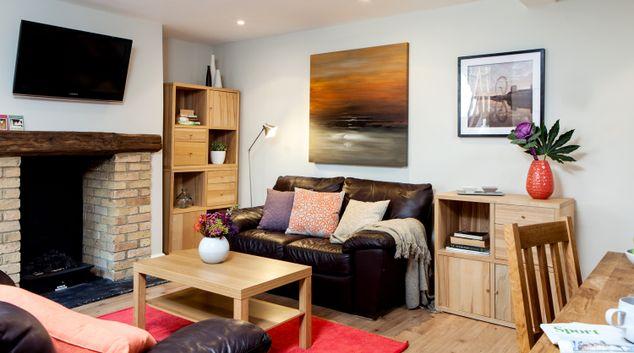 Living area at Fernlea Garden Balham Apartment, Balham, London