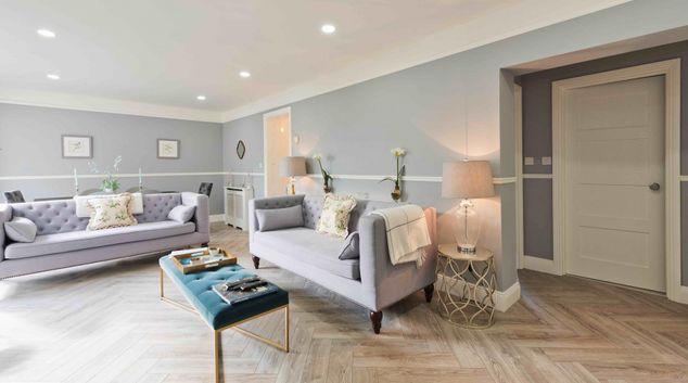 Living area at St James Court Apartment, Ballsbridge, Dublin