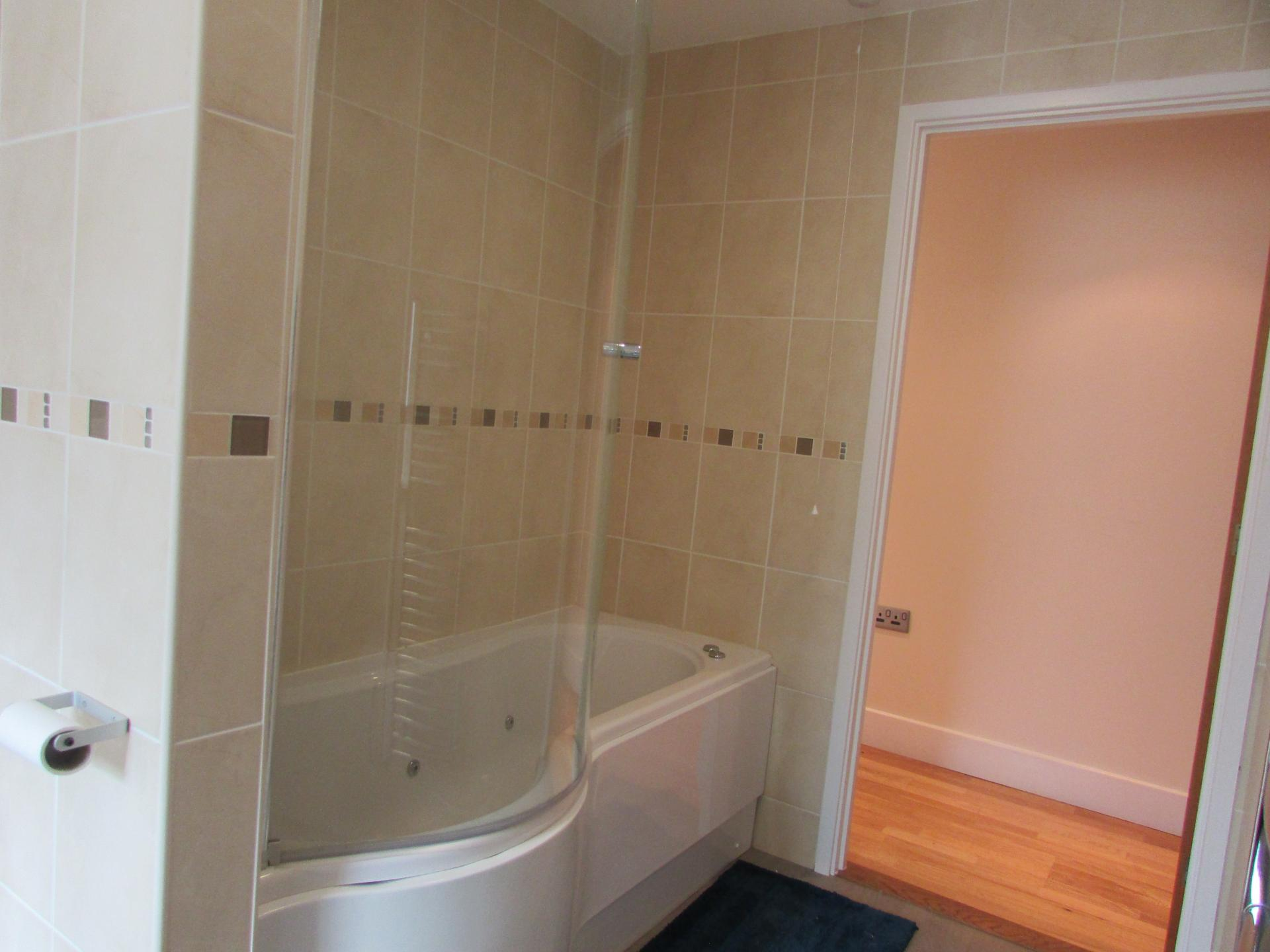 Bathroom at William Yard Apartment, Millbay, Plymouth