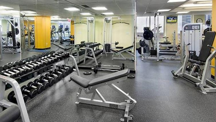 Gym at Archstone Midtown West Apartments