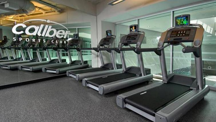 Gym at Archstone Boston Common Apartments