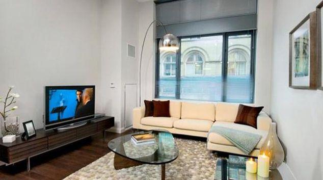 Traditional living area in Archstone Boston Common Apartments