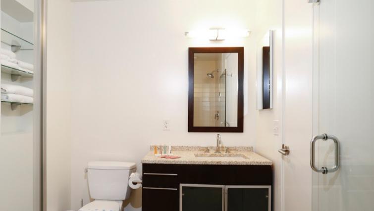 Bathroom in 1330 Boylston Apartments