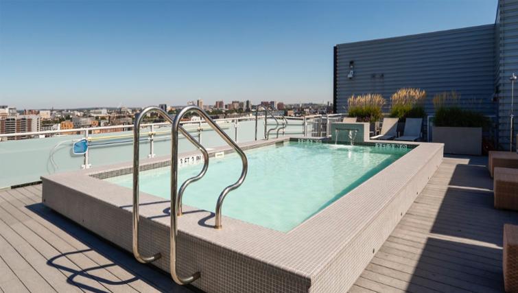 Pool in 1330 Boylston Apartments