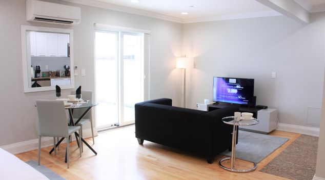 Lounge at Madison Apartments, Manhattan, New York