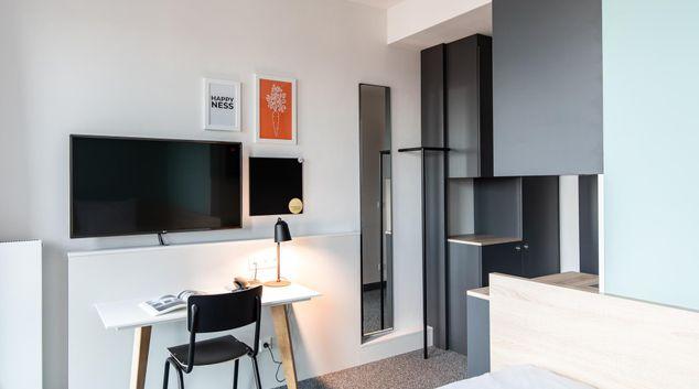 Living area at Sylc. Apartmenthotel, Stellingen, Hamburg