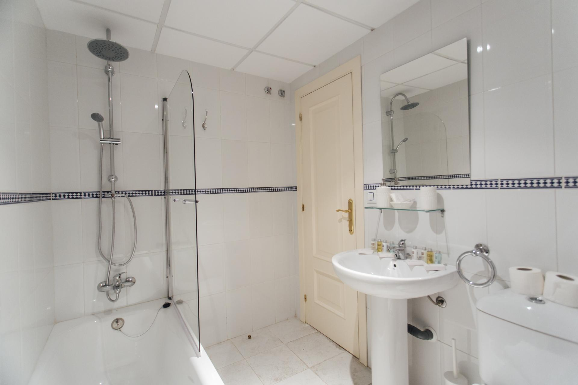 Shower at Constitucion Apartment, Centre, Seville