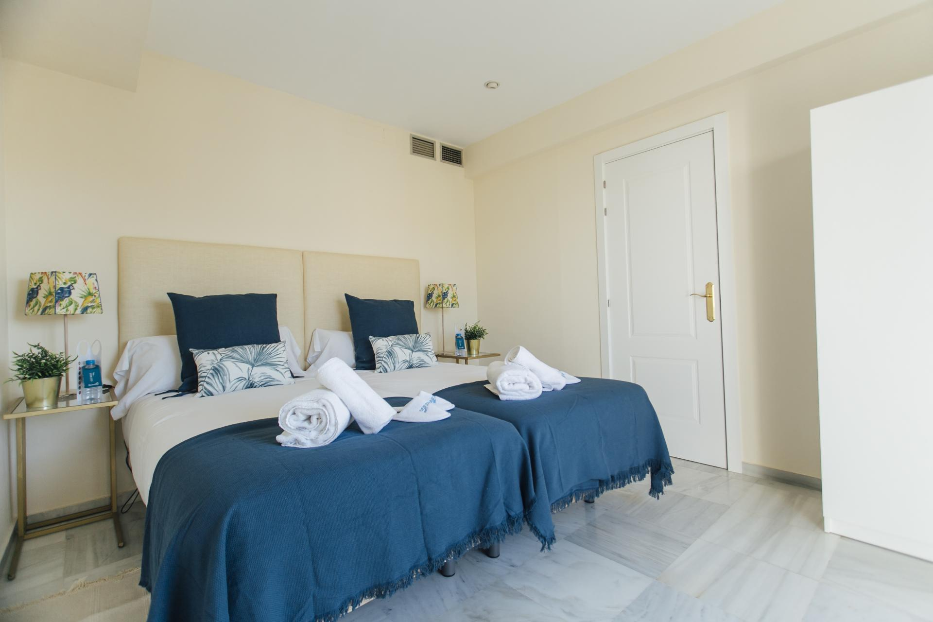 Twin bedroom at Constitucion Apartment, Centre, Seville