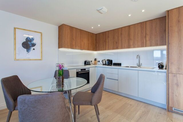 Kitchen at Brixham Court Apartments, Centre, Staines