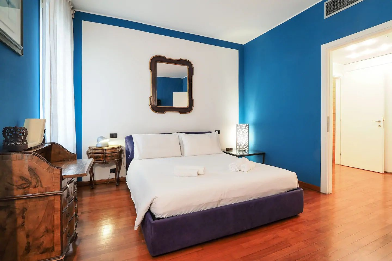 Bedroom at The Scholar Apartment, Porta Nuova, Milan