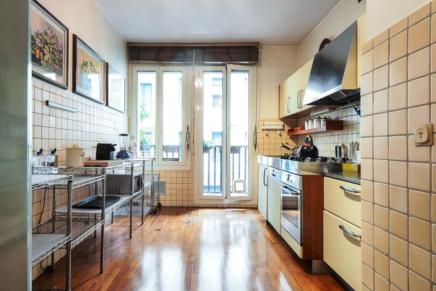 Fully equipped kitchen at The Scholar Apartment, Porta Nuova, Milan