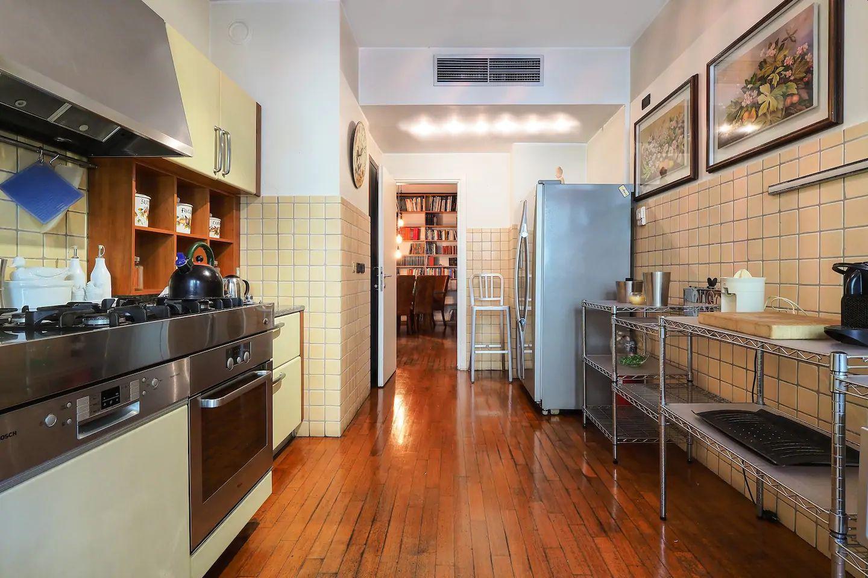 Kitchen at The Scholar Apartment, Porta Nuova, Milan