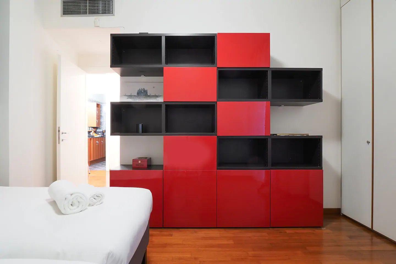 Storage at The Scholar Apartment, Porta Nuova, Milan