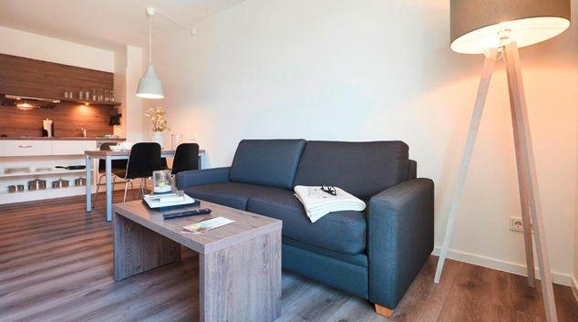 Living area at Universitetallee Apartment, Riensberg, Bremen
