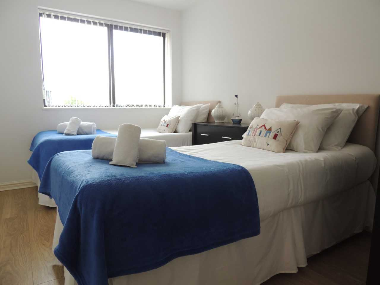 Bedroom at South Row Apartments