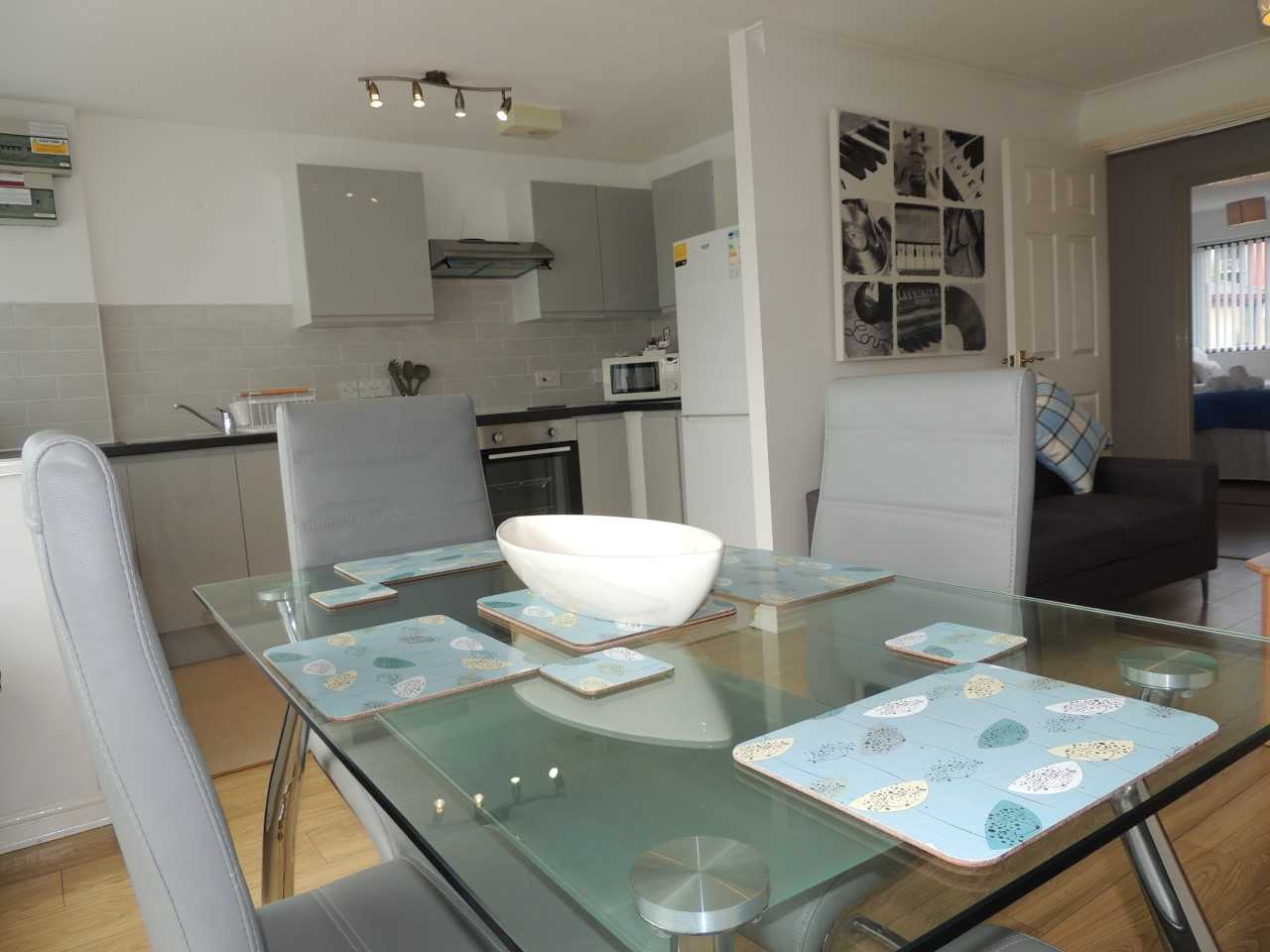 Dining table at South Row Apartments
