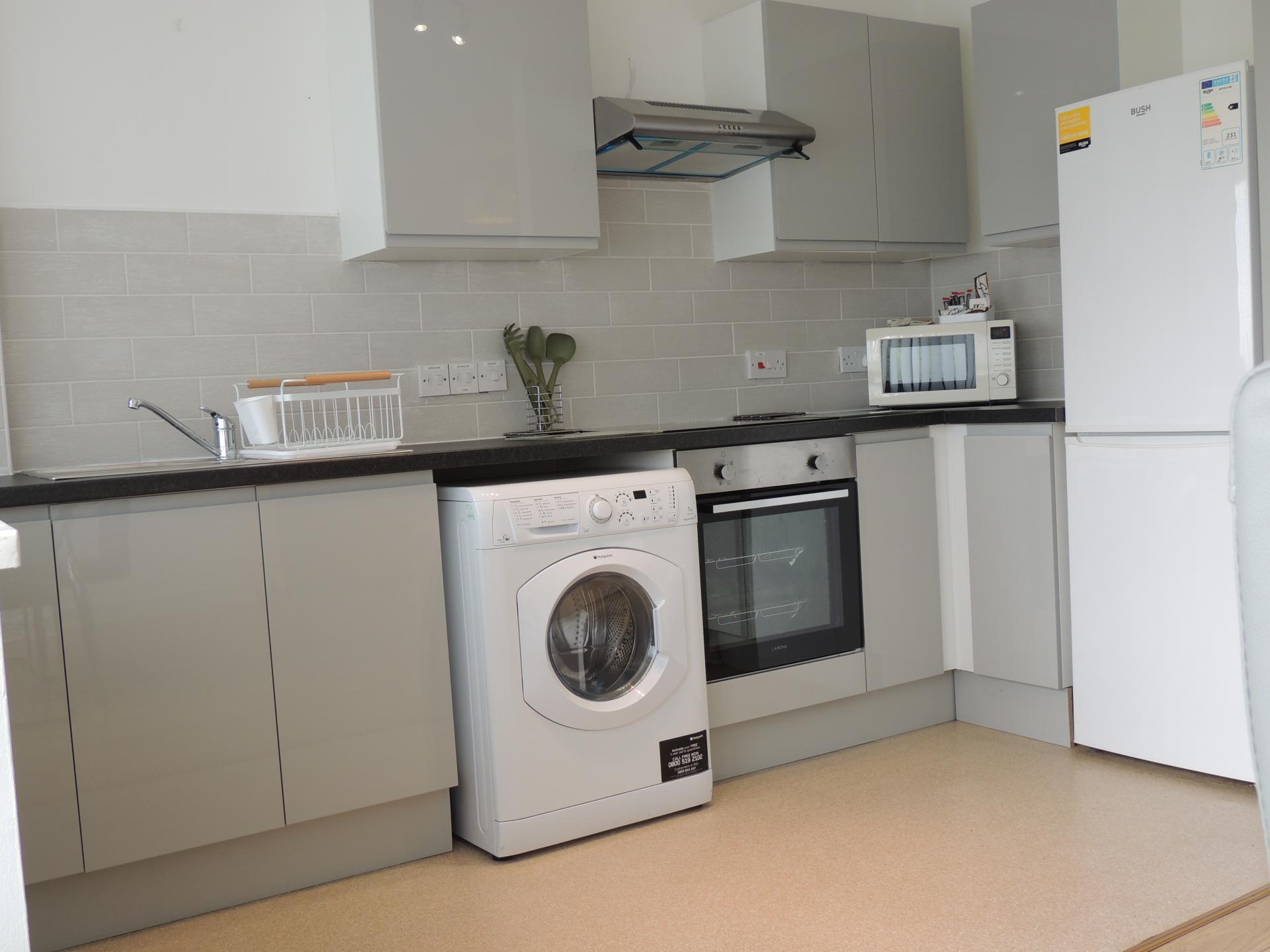Washing machine at South Row Apartments
