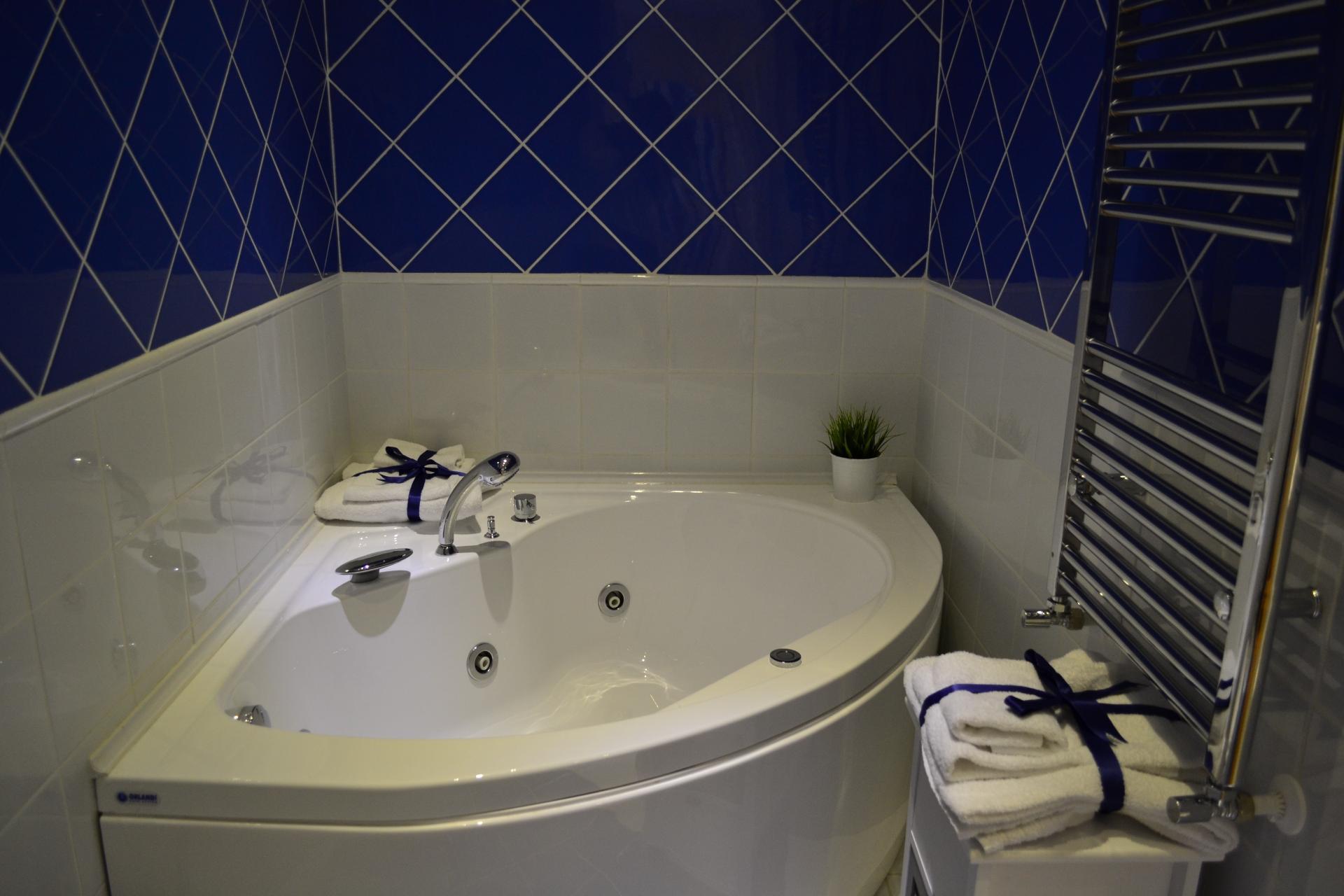 Bathroom at Angelico Grand Apartment, Prati, Rome