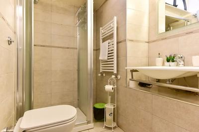 Shower at Monti Flower Apartment, Centre, Rome