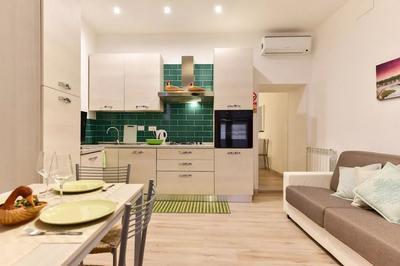 Kitchen at Monti Flower Apartment, Centre, Rome
