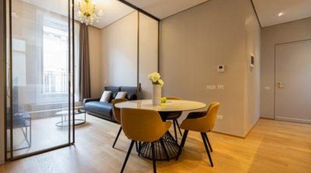 Living room at Sweet Vittoriano Apartment, Municipio I, Rome