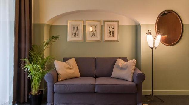 Living room at Prati Duo Apartment, Prati, Rome