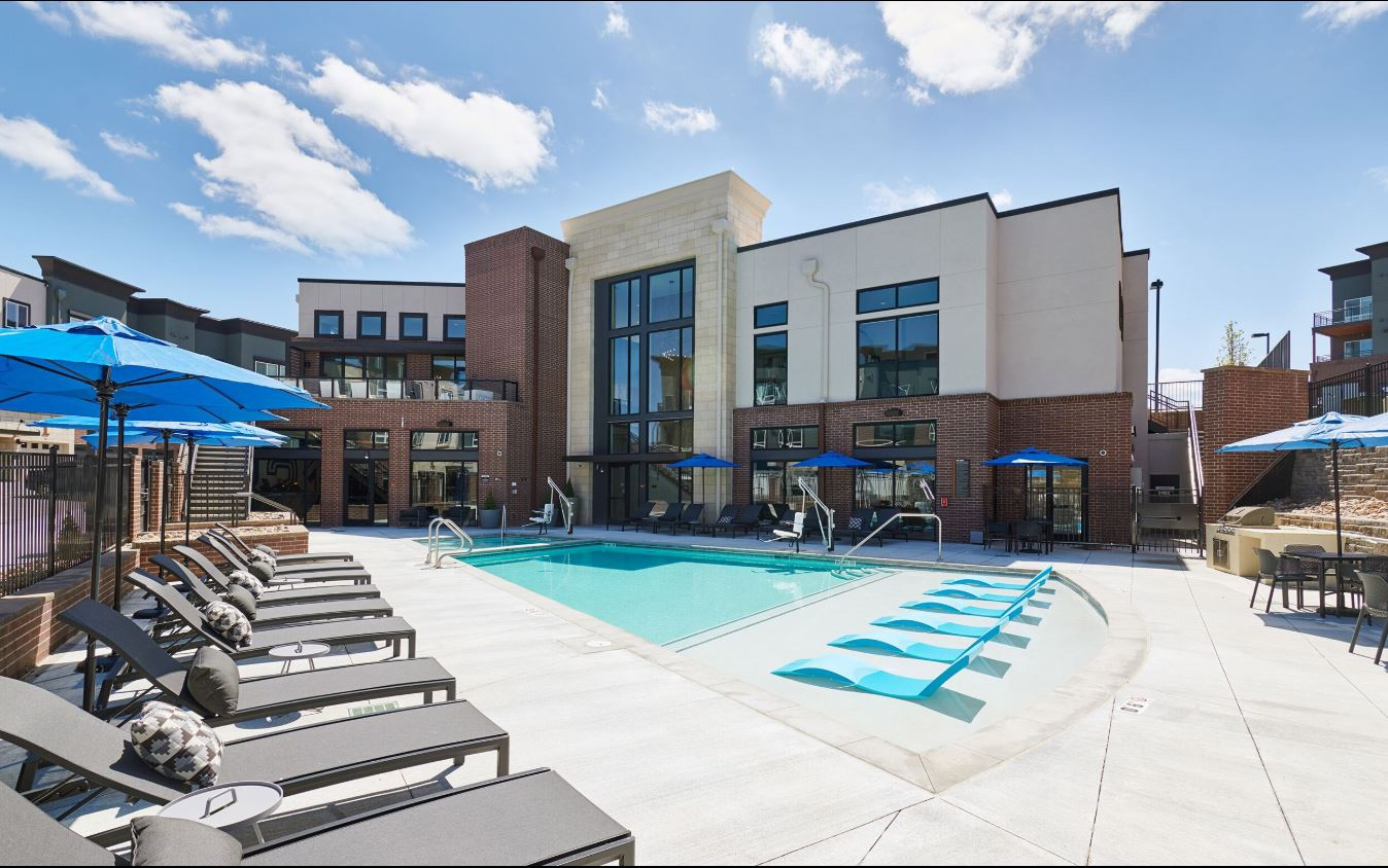 Pool at The Palmer Apartment