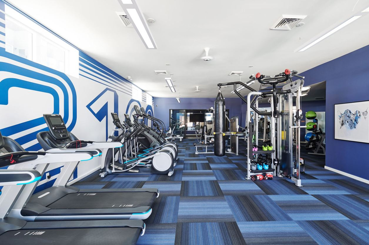 Fitness Centre at The Palmer Apartment