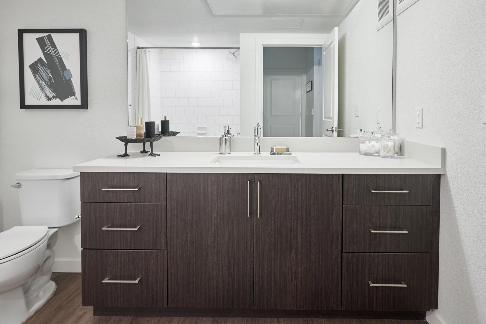 Bathroom at The Palmer Apartment