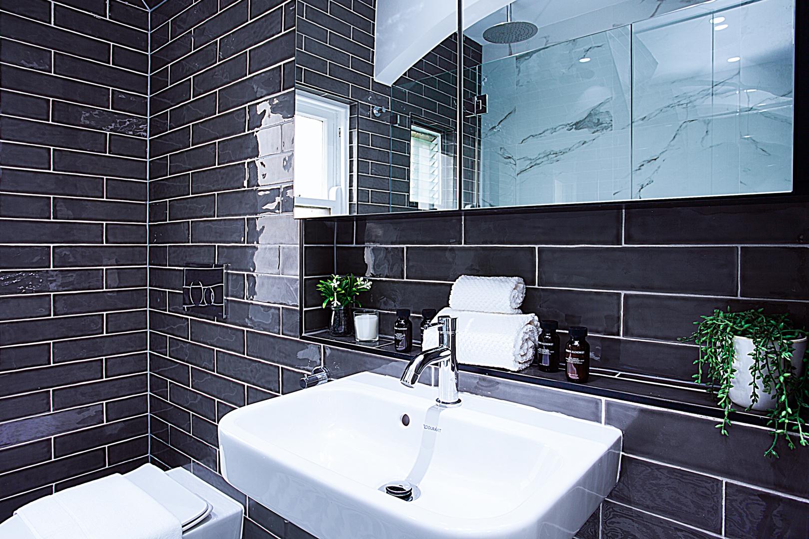 Bathroom at The Miller Apartment, The Rocks, Sydney