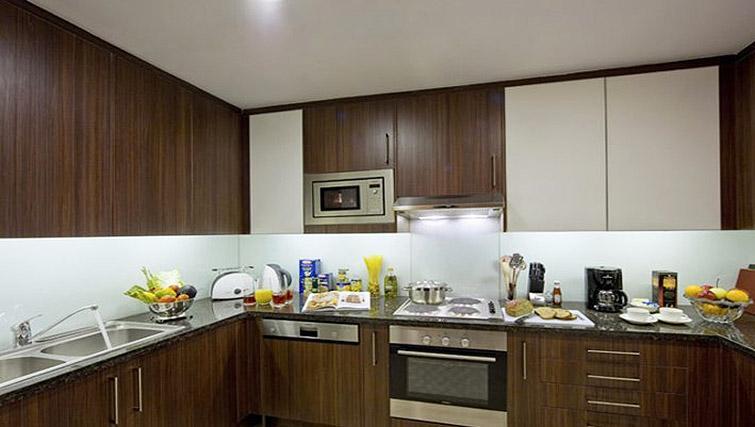 Outstanding kitchen in Oakwood Premier Prestige Bangalore