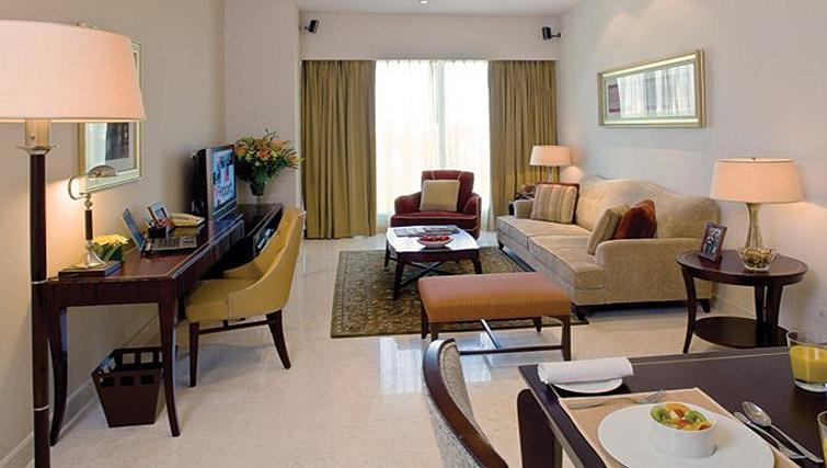 Executive living area in Oakwood Premier Prestige Bangalore